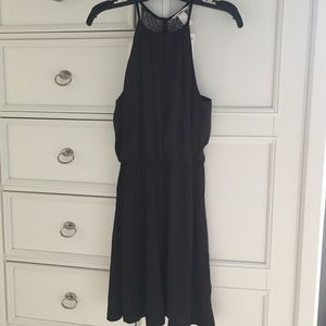LBD H&M size 6 black and lace